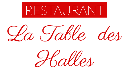 logo restaurant la table des halles